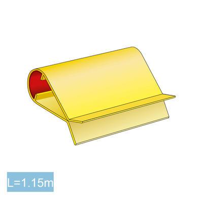 BE-FIX Schutzprofil gelb/schwarz