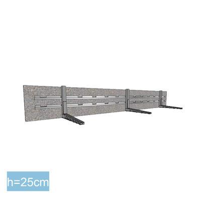 BE-FIX Deckenrandabschalung Höhe 25 cm