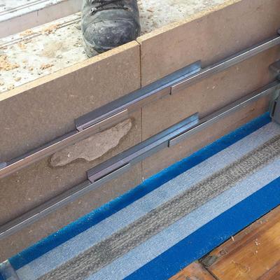 BE-Fix Stossverbinder U-Profil 30 cm