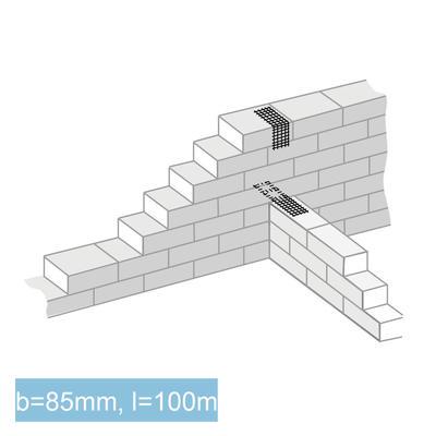 GRIPRIP-Mauerwerksarmierung (schwarz)