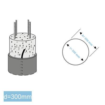 Rapidobat-Schalrohre spiral d= 300 mm