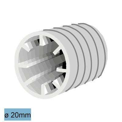 Flupp-Dichtstopfen 20 mm
