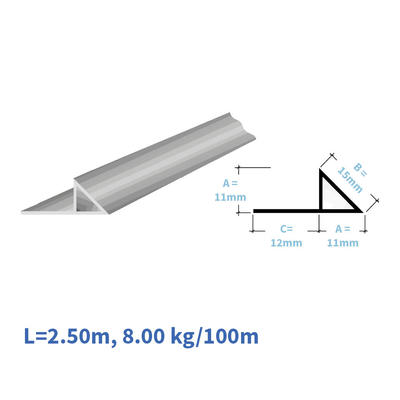 Kunststoff-Eckleisten EL111