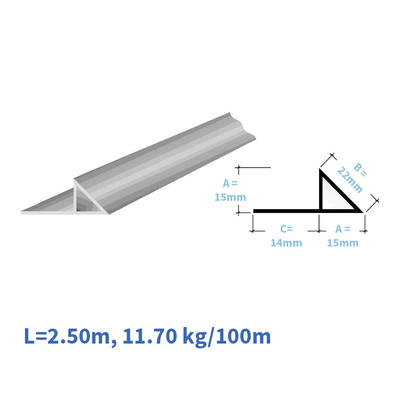 Kunststoff-Eckleisten EL115