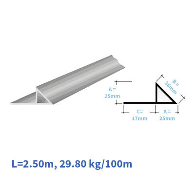 Kunststoff-Eckleisten EL125