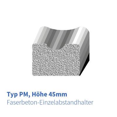 Betonabstandhalter Typ PM 45 mm