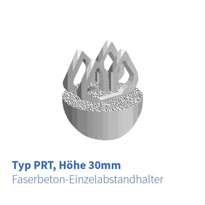 Betonabstandhalter 30 mm Typ-PRT