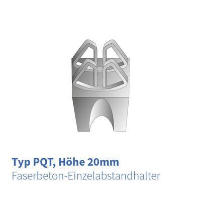 Betonabstandhalter 20 mm Typ-PQT