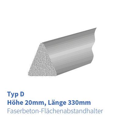 FB-Flächenabstandhalter Dreikant 20mm