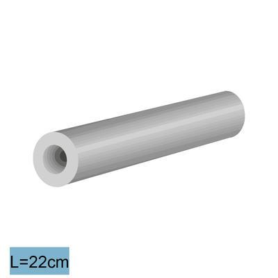 Faserbetonrohre 22/40, l= 22 cm