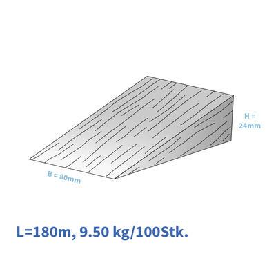 Holzkeile Fi/Ta180/080/24 mm