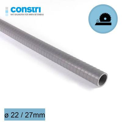 Distanzrohre ungeschnitten glatt 22 mm