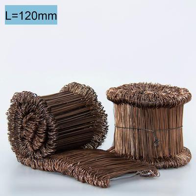 Drahtbinder geschweisst 12cm, verkupfert